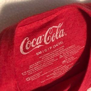 Coca Cola Tops - ENJOY COCA COLA GRAPHIC TOP